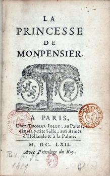 La princesse de montpensier 1662